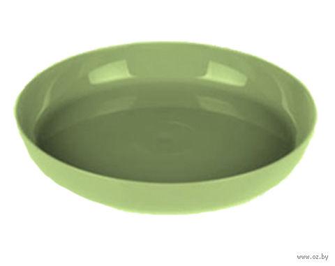 """Подставка для цветочного горшка """"Ага"""" (13 см; зеленая) — фото, картинка"""