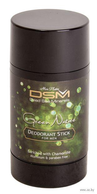 """Дезодорант для мужчин """"DSM. Green Nature"""" (стик; 80 мл) — фото, картинка"""