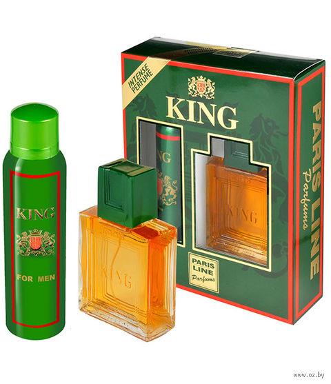 """Подарочный набор """"King"""" (туалетная вода, дезодорант) — фото, картинка"""