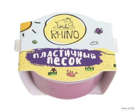 """Кинетический песок """"Rhino"""" (розовый; 50 г) — фото, картинка"""