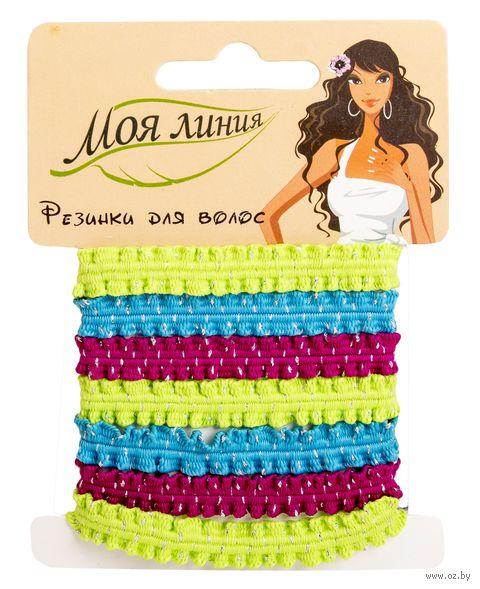 Набор резинок для волос разноцветных (7 шт.) — фото, картинка