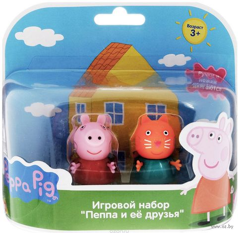 """Набор фигурок """"Peppa Pig. Пеппа и Кенди"""" (2 шт.) — фото, картинка"""