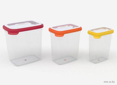 """Набор контейнеров для хранения """"Nest 3"""" (3 шт.)"""
