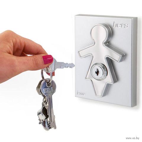 "Холдер для ключей с брелоком ""Hers"""