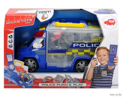 """Набор полицейского """"Полицейская машина"""" (со световыми и звуковыми эффектами) — фото, картинка"""