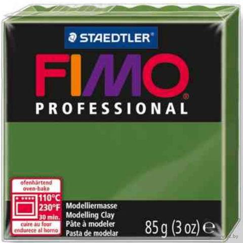 """Глина полимерная """"FIMO Professional"""" (зеленый лист; 85 г) — фото, картинка"""