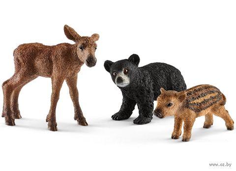"""Набор фигурок """"Детеныши лесных животных"""" — фото, картинка"""