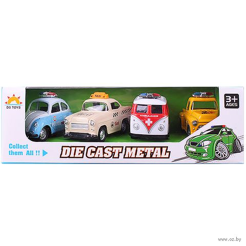 "Набор машинок ""Mini Car"" (арт. DV-T-1153) — фото, картинка"
