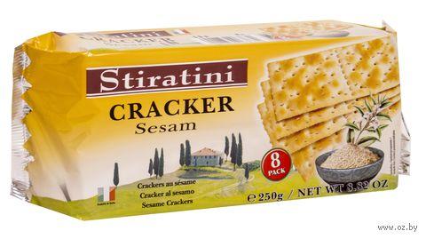 "Крекер ""Stiratini. Кунжут"" (250 г) — фото, картинка"