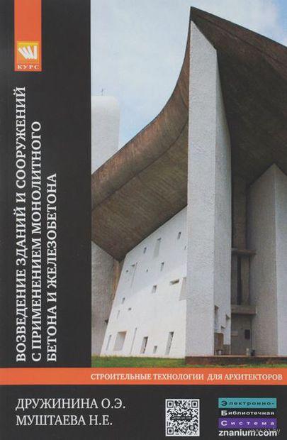 Возведение зданий и сооружений с применением монолитного бетона и железобетона. Н. Муштаева, О. Дружинина