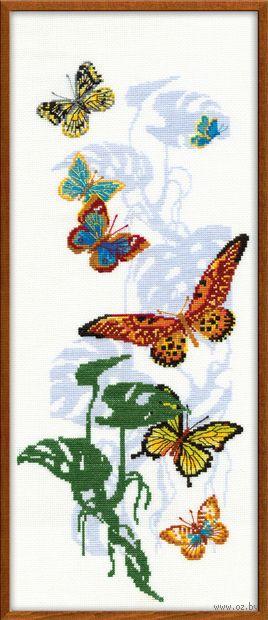 """Вышивка крестом """"Экзотические бабочки"""" (арт. 903)"""