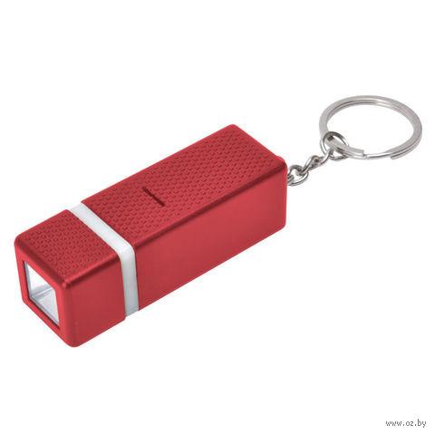 Брелок с фонариком (красный)