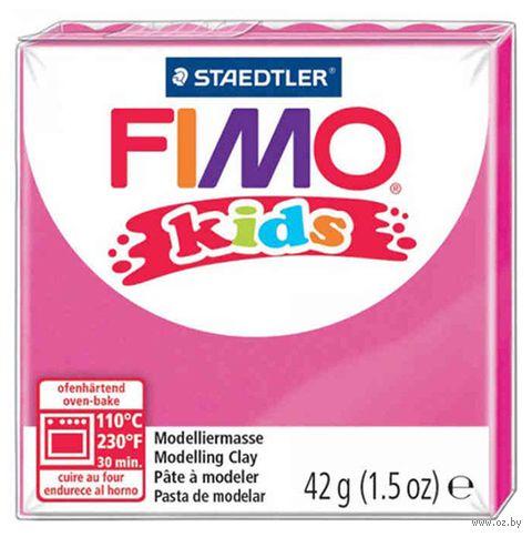 """Глина полимерная """"FIMO Kids"""" (розовый; 42 г) — фото, картинка"""