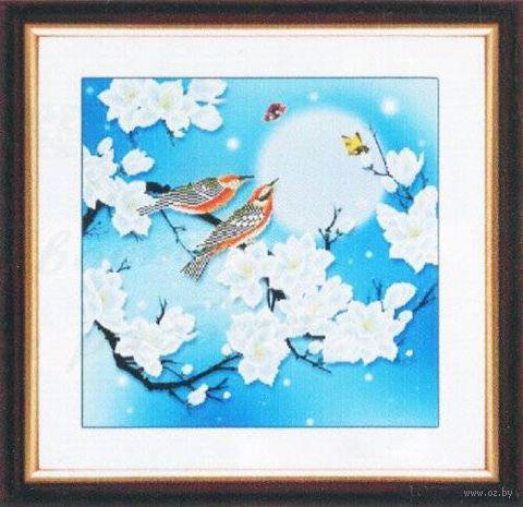 """Алмазная вышивка-мозаика """"Пение птиц"""""""