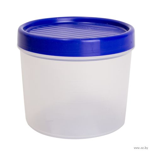 """Контейнер для хранения продуктов """"Vandi"""" (0,8 л; лазурно-синий) — фото, картинка"""