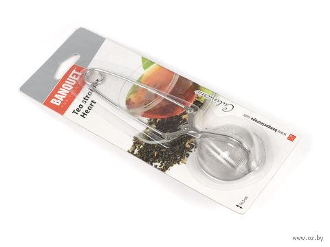 Приспособление для заваривания чая металлическое (165 мм) — фото, картинка
