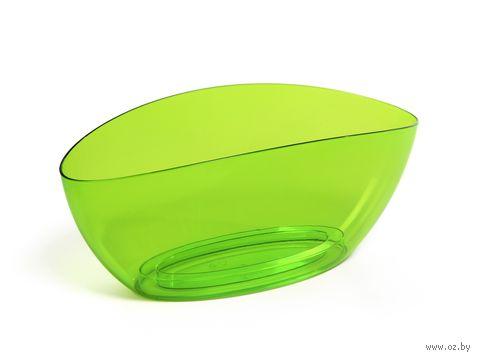 """Кашпо """"Luna"""" (35х13,5х15 см; прозрачное зеленое) — фото, картинка"""