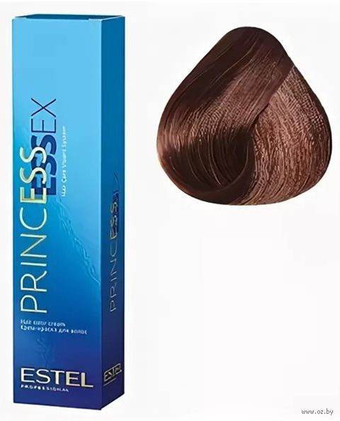 """Краска-уход для волос """"Princess Essex"""" тон: 6.4, темно-русый медный — фото, картинка"""