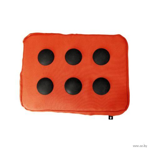 """Подставка для ноутбука """"Surfpillow Hightech"""" (оранжевая, черная)"""
