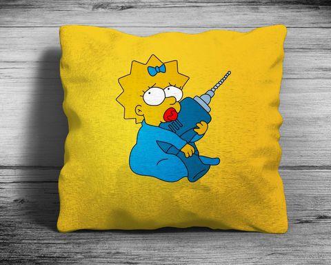 "Подушка ""Симпсоны"" (арт. 8; 28х28 см) — фото, картинка"