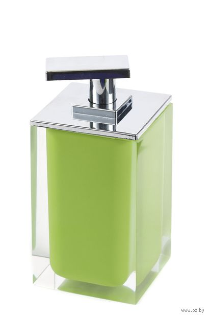 Дозатор для жидкого мыла (300 мл; зеленый) — фото, картинка