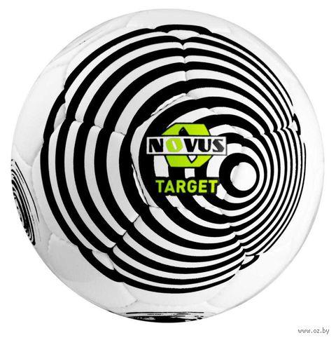"""Мяч футбольный Novus """"Target"""" №5 (бело-чёрный) — фото, картинка"""