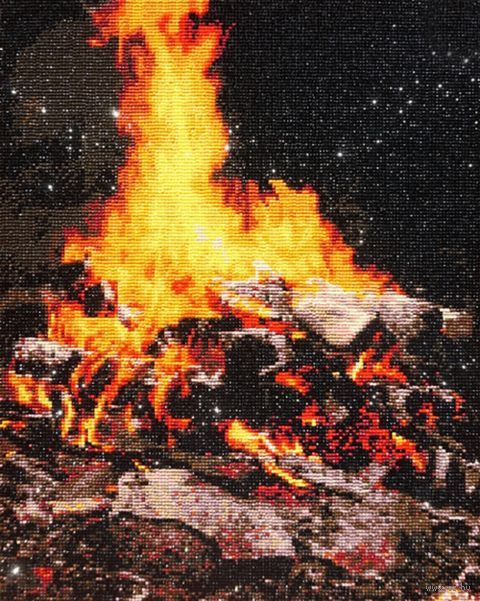 "Алмазная вышивка-мозаика ""Сила огня"" (400х500 мм) — фото, картинка"