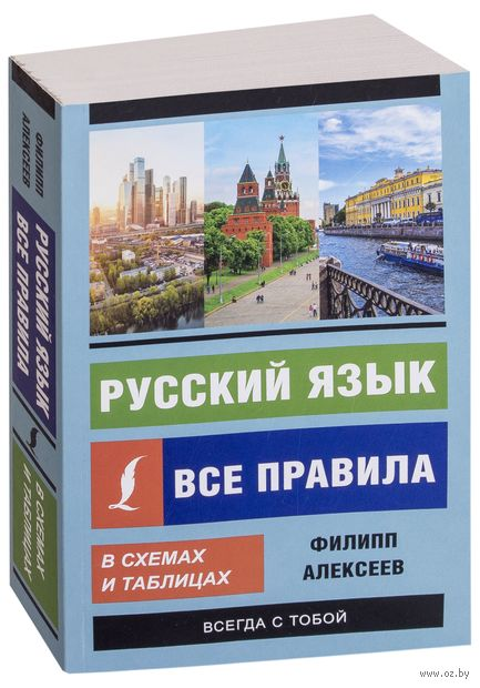 Русский язык. Все правила в схемах и таблицах — фото, картинка