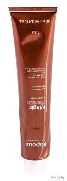 """Крем-краска для волос """"Non Ammonia"""" тон: 5.12, светлый коричневый бежевый холодный — фото, картинка"""