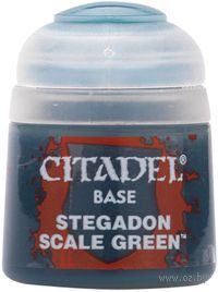 Paint Pots: Stegadon Scale Green 12ml (21-10)