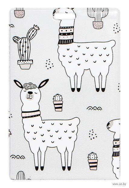 """Держатель для карт """"Lama Cactus"""" — фото, картинка"""