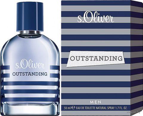 "Туалетная вода для мужчин ""s.Oliver Outstanding Men"" (50 мл) — фото, картинка"