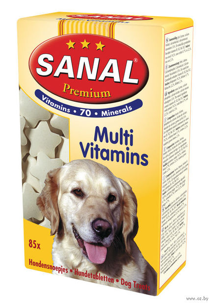 "Витамины для собак ""Premium Multi Vitamins"" (50 г) — фото, картинка"
