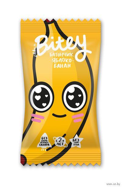 "Батончик ""Bitey. Яблоко и банан"" (25 г) — фото, картинка"