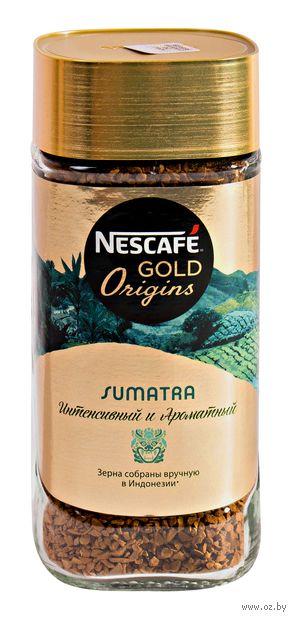 """Кофе растворимый """"Nescafe. Gold Origins. Sumatra"""" (85 г; в банке) — фото, картинка"""
