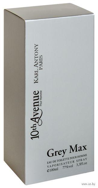 "Туалетная вода для мужчин ""10th Avenue. Grey Max"" (100 мл) — фото, картинка"