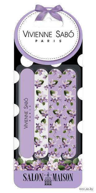 """Набор пилочек для ногтей """"Salon-A-Maison"""" (4 шт) — фото, картинка"""