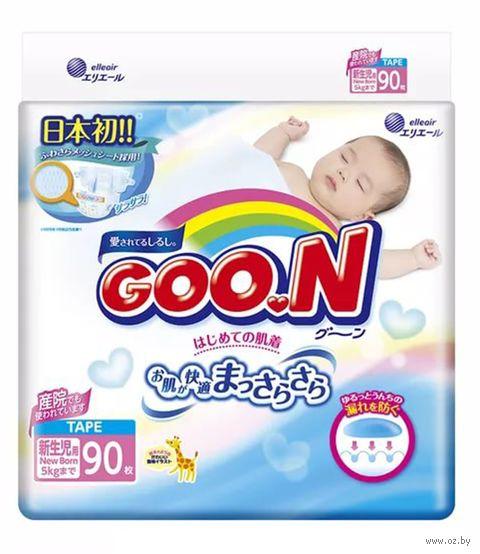 """Подгузники """"Goo.N"""" (0-5 кг; 90 шт.) — фото, картинка"""
