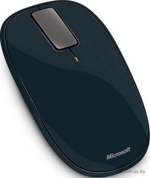 Беспроводная оптическая мышь Microsoft Explorer Touch Mouse (dark-grey)
