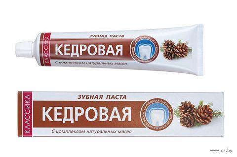 """Зубная паста """"Кедровая"""" (70 г) — фото, картинка"""