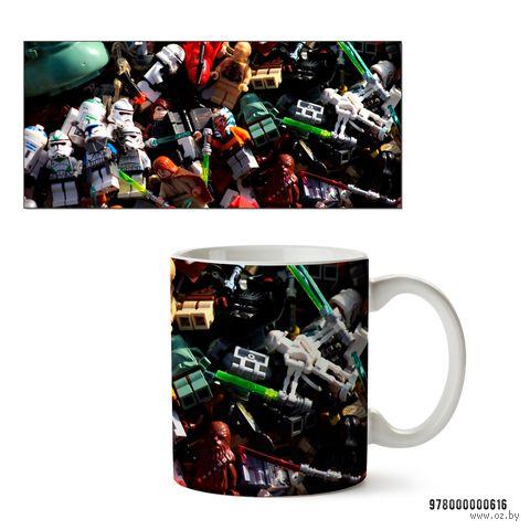 """Кружка """"Лего. Звездные войны"""" (белая) — фото, картинка"""