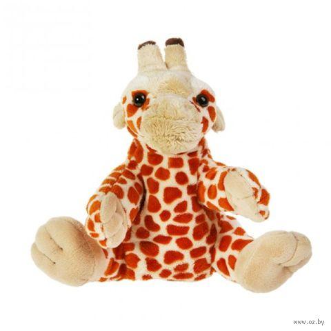 """Мягкая игрушка """"Кукла на руку. Жираф"""" (27 см) — фото, картинка"""