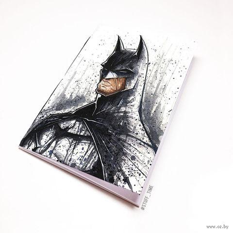 """Блокнот белый """"Бэтмен"""" А6 (446)"""