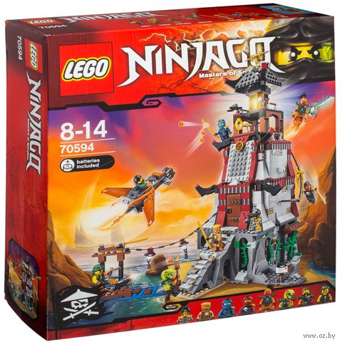 "LEGO Ninjago ""Осада маяка"" (со световыми эффектами)"