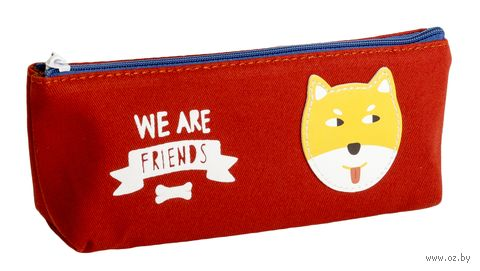 "Пенал ""We are Friends"" (красный) — фото, картинка"