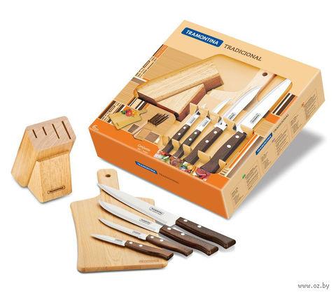 "Набор ножей с подставкой ""Tradicional"" (6 предметов) — фото, картинка"
