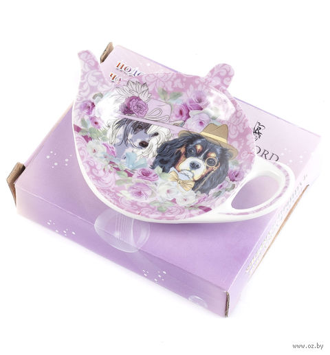 Подставка для чайного пакетика (9х7,5 мм; арт. XX-TBP-A4925) — фото, картинка