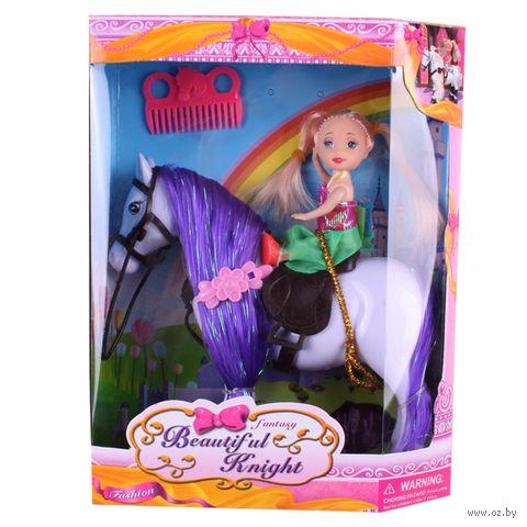 """Кукла """"Девочка на лошадке"""" — фото, картинка"""