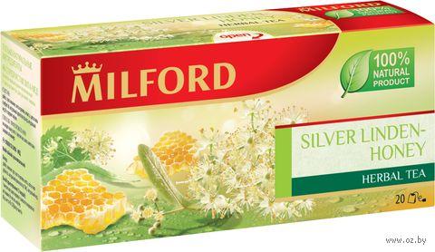 "Фиточай ""Milford. Серебристая липа-мед"" (20 пакетиков) — фото, картинка"