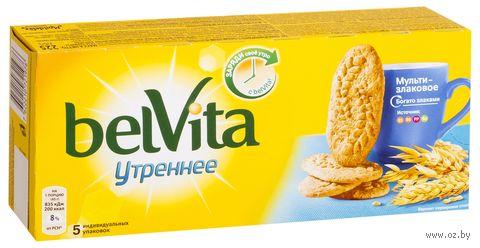"""Печенье мультизлаковое """"Утреннее"""" (225 г) — фото, картинка"""